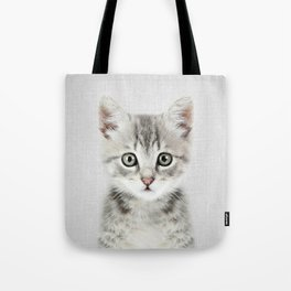 Kitten - Colorful Tote Bag
