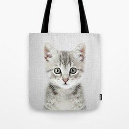 Kitten - Colorful Tote Bag