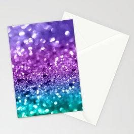 Unicorn Girls Glitter #19 #shiny #decor #art #society6 Stationery Cards
