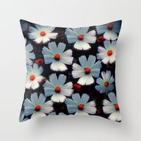 family Throw Pillows featuring Family by Armine Nersisian