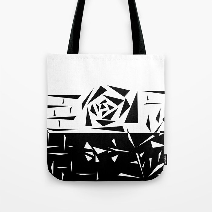 Abstract rose. black and white . 1 Tote Bag