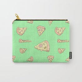 Perfect Pizza Slices! - Mean Green Carry-All Pouch