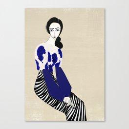 Henri Matisse inspired fashion #3 Canvas Print