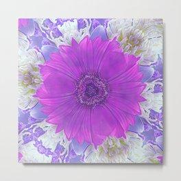 Flower Power 10 Metal Print