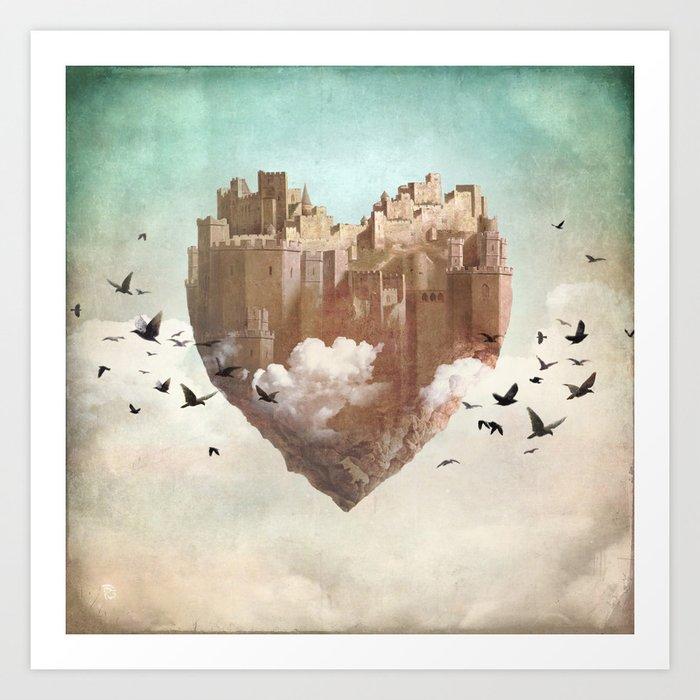 My Heart Is My Castle Art Print