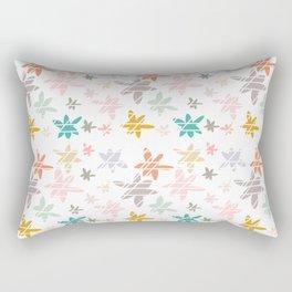 Flower Burst Rectangular Pillow