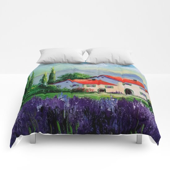 The beauty of Provence Comforters