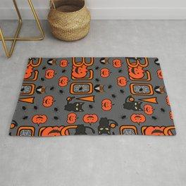 Boo Halloween pattern Rug