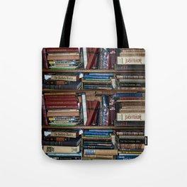 Books on a Shelf Tote Bag