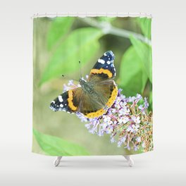 Butterfly VIII Shower Curtain