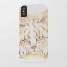 My Cat iPhone X Slim Case