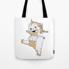 By Any Means Necessary Tote Bag