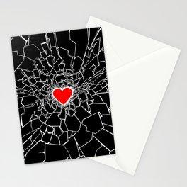 Heartbreaker III Black Stationery Cards