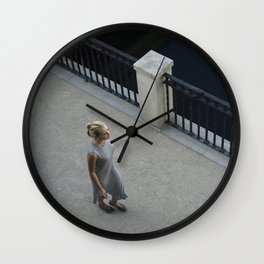 Footwork Wall Clock