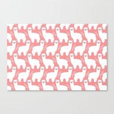The Alpacas II Canvas Print