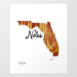 Noles ii Art Print