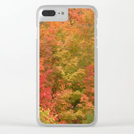 My favorite color is October Clear iPhone Case
