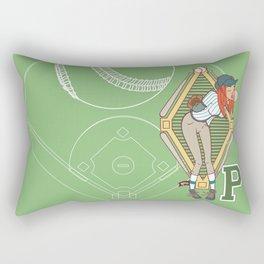 Köpke's Basegirl! Rectangular Pillow