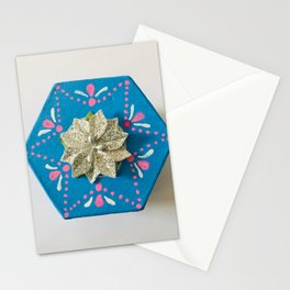 Blue and Beautiful Stationery Cards