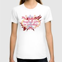 magical girl T-shirts featuring Magical Girl In Training by CassidyStone