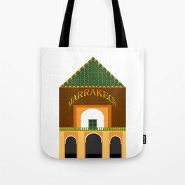 Marrakech menara Tote Bag