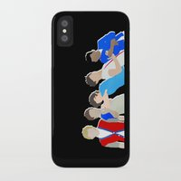one direction iPhone & iPod Cases featuring One Direction by Natasha Ramon