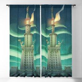 The Lighthouse of Alexandria Blackout Curtain