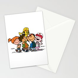 Peanuts Gang Stationery Cards