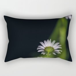 Flowers by night Rectangular Pillow