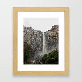 Yosemite - Braidalvail Falls Framed Art Print