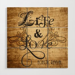 Life & Love Wood Wall Art