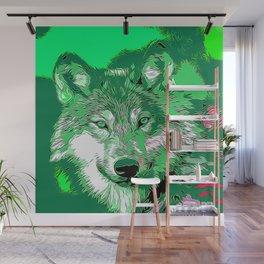 Wolf 20151106 Wall Mural