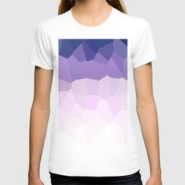 Purple Watercolor Crystals T-shirt