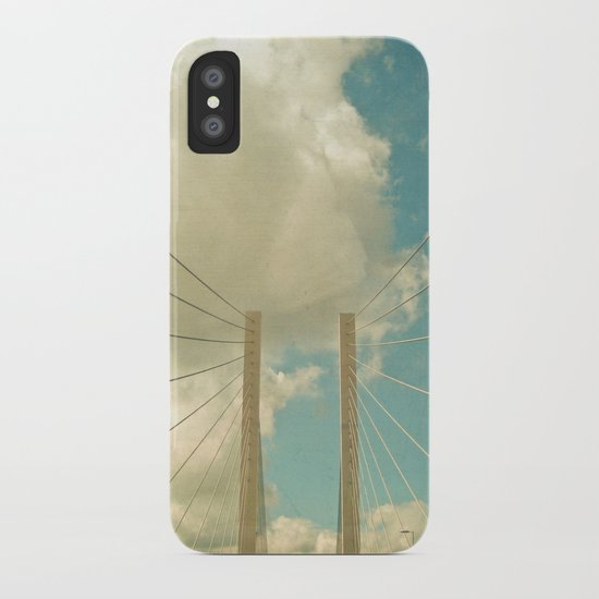 Over the Bridge iPhone Case