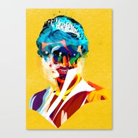 princess Canvas Prints featuring princess by Alvaro Tapia Hidalgo