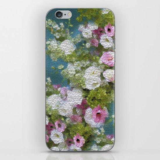 Mosaic Vintage Impressionism- Country Flower Love Joy iPhone & iPod Skin
