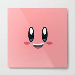 the game pink face / art abstract Metal Print