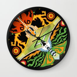 Mothra Legacies Wall Clock