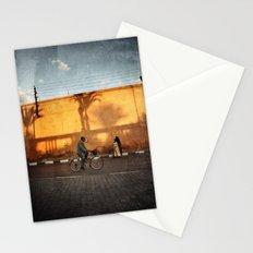 vélocipède sunset Stationery Cards