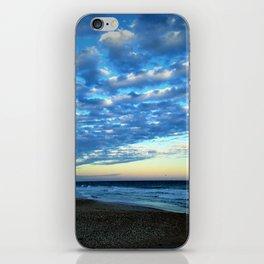 Evening clouds iPhone Skin