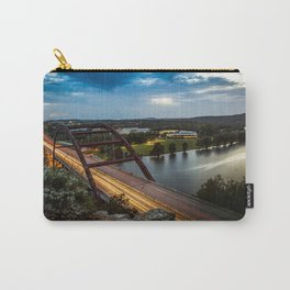 Pennybacker Bridge 360 Carry-All Pouch