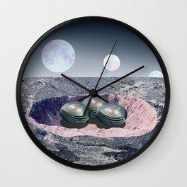 Ashararaptor Nest Wall Clock
