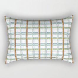 Primary Plaid Rectangular Pillow