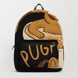 Cappucino Pug Backpack