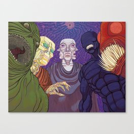 Demonic Visit / The Powers That Be Canvas Print