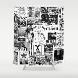 PUNK Therese Shower Curtain