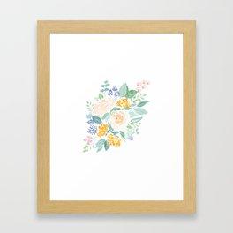I Never Promised You a (Mini) Rose Garden Framed Art Print