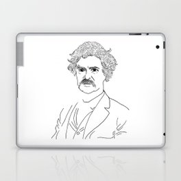 Mark Twain Laptop & iPad Skin