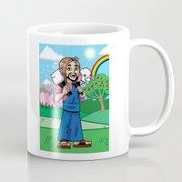 manga Mugs featuring Manga Jesus by David Kryn