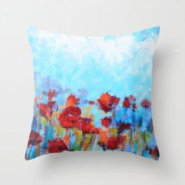 Garden of Delights Throw Pillow